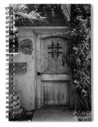 Garden Doorway 2 Spiral Notebook