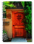 Garden Doorway Spiral Notebook