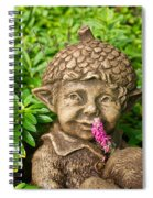 Garden Elf 2 Spiral Notebook