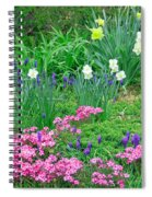 Garden Escape Spiral Notebook