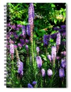 Garden Flowers 1 Spiral Notebook