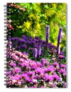 Garden Flowers 3 Spiral Notebook