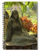 Garden Of Statues Egypt Spiral Notebook