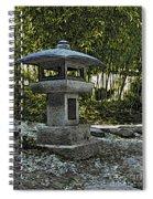 Garden Pagoda Spiral Notebook