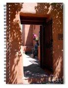 Garden Sculptures Museum Of Art In Santa Fe Nm Spiral Notebook
