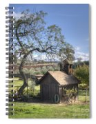 Garden Shed Spiral Notebook
