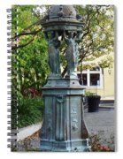 Garden Statuary In The French Quarter Spiral Notebook