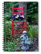 Garden Stil Llife 1 Spiral Notebook