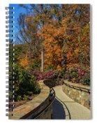 Garden Walk Way Spiral Notebook