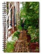 Garden Walkway Spiral Notebook