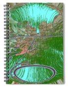Garden Wall Spiral Notebook