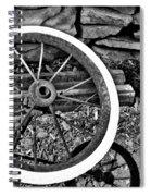 Garden Wheel Spiral Notebook