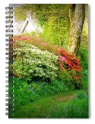 Gardens Of The Old Rectory Spiral Notebook