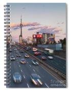Gardiner Expressway Toronto Spiral Notebook