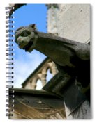 Gargoyle Of Saint Denis Spiral Notebook