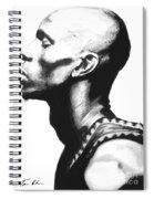 Garnet Spiral Notebook