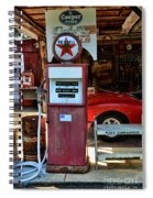 Gas Pump - Texaco Gas Globe Spiral Notebook