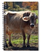 Gasping Cow Spiral Notebook
