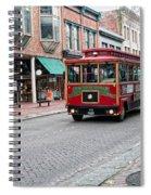Gastown Street Scene Spiral Notebook