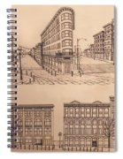 Gastown Vancouver Canada Prints Spiral Notebook
