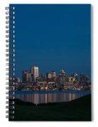 Gasworks Seattle Citiscape Spiral Notebook