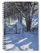 Gate Near Youlgreave Derbyshire Spiral Notebook