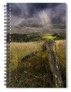 Gate To Heaven Spiral Notebook