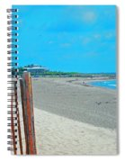 Gate To Paradise Spiral Notebook