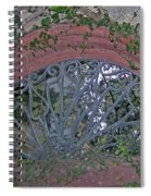 Gate To The Courtyard Spiral Notebook