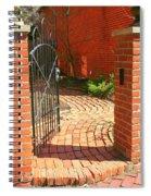 Gateway To A Garden Spiral Notebook