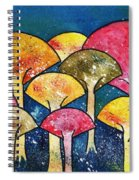 Gathering Of The Colors Spiral Notebook