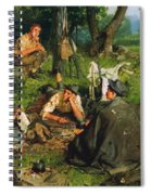 Gaul: Nearing The End Spiral Notebook