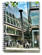 Gavin Turk's Nail Sculpture At One New Change In London Spiral Notebook