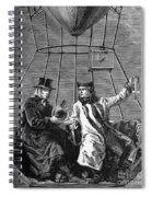 Gay-lussac And Jean-baptiste Biot, 1804 Spiral Notebook