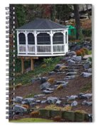 Gazebo On The Hill Spiral Notebook