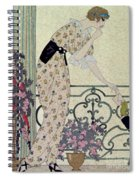 Gazette Du Bon Ton Spiral Notebook