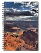 Gazing Into The Sky Spiral Notebook