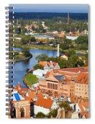 Gdansk Cityscape Spiral Notebook