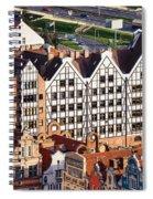 Gdansk Granaries Spiral Notebook