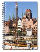 Gdansk In Poland Spiral Notebook