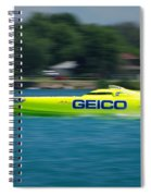 Geico Offshore Racer Spiral Notebook