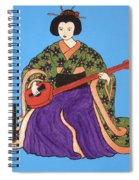 Geisha Serenade Spiral Notebook