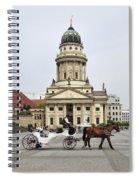 Gendarmenmarkt Berlin Germany Spiral Notebook