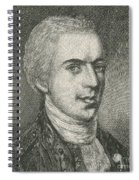 General Samuel B. Webb Spiral Notebook