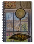 General Store Scale Spiral Notebook
