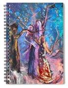 Generations Three Spiral Notebook