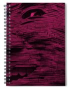 Gentle Giant In Hot Pink Spiral Notebook