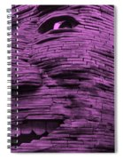 Gentle Giant In Light Pink Spiral Notebook
