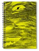 Gentle Giant In Negative Colors Spiral Notebook