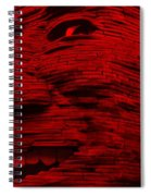 Gentle Giant In Red Spiral Notebook